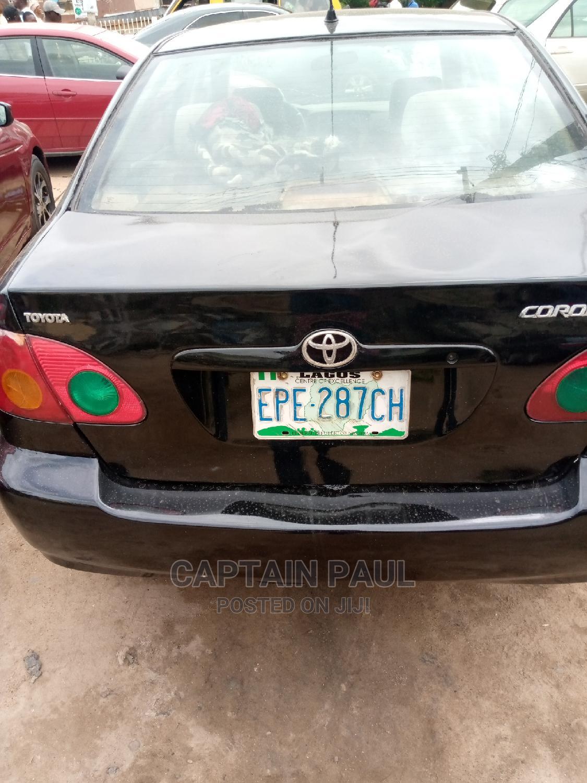 Archive: Toyota Corolla 2004 LE Black