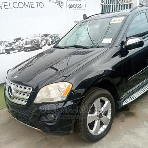 Mercedes-Benz M Class 2010 ML 350 4Matic Black | Cars for sale in Lagos State, Ogba
