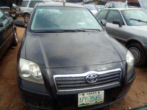 Toyota Avensis 2006 Black | Cars for sale in Edo State, Benin City