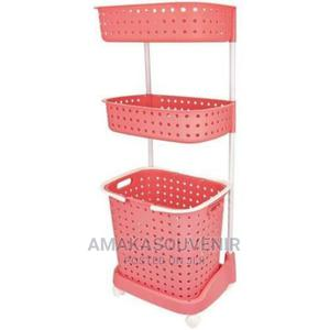 Laundry Basket 2/3-Layers Laundry Storage Basket | Home Accessories for sale in Lagos State, Lagos Island (Eko)