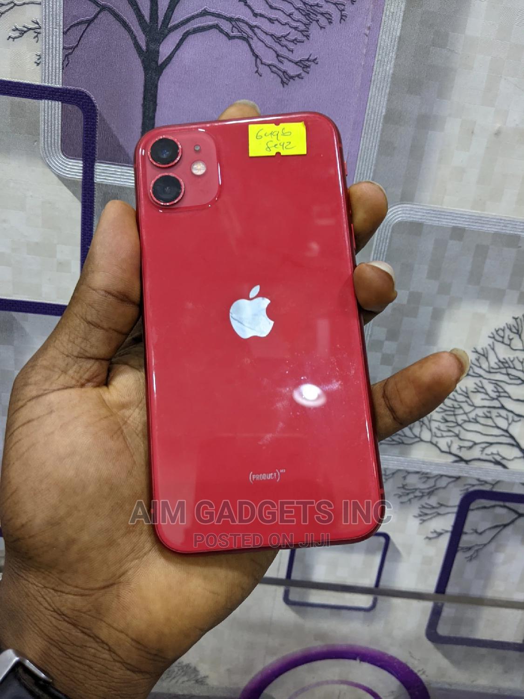 Apple iPhone 11 64 GB Red   Mobile Phones for sale in Lekki, Lagos State, Nigeria