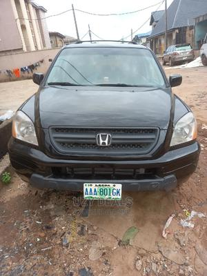Honda Pilot 2003 EX 4x4 (3.5L 6cyl 5A) Black | Cars for sale in Lagos State, Isolo