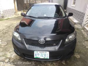 Toyota Corolla 2009 1.8 Advanced Black | Cars for sale in Rivers State, Port-Harcourt