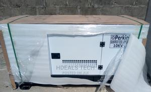 10kva Perkins Engine Soundproof Generator Low DIESEL Usage   Electrical Equipment for sale in Lagos State, Ojo