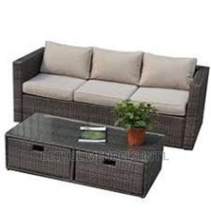 Executive Rattan Three Seater Chair for Sale   Furniture for sale in Lagos State, Ikeja