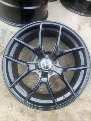 19inch Mercedes Benz Rim Smart Black   Vehicle Parts & Accessories for sale in Lagos State, Mushin