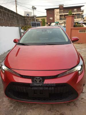 Toyota Corolla 2020 LE Red | Cars for sale in Lagos State, Ojodu