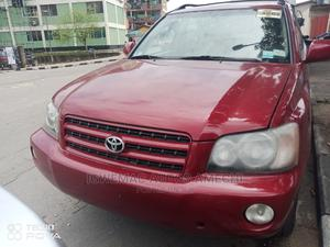 Toyota Highlander 2002 Limited V6 AWD Red | Cars for sale in Lagos State, Amuwo-Odofin