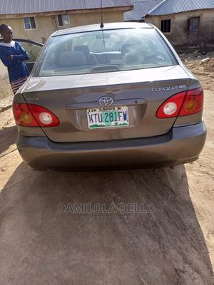 Toyota Corolla 2006 CE Gray | Cars for sale in Abuja (FCT) State, Lugbe District