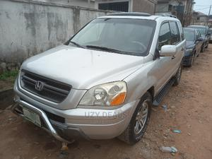 Honda Pilot 2005 EX-L 4x4 (3.5L 6cyl 5A) Silver | Cars for sale in Lagos State, Isolo
