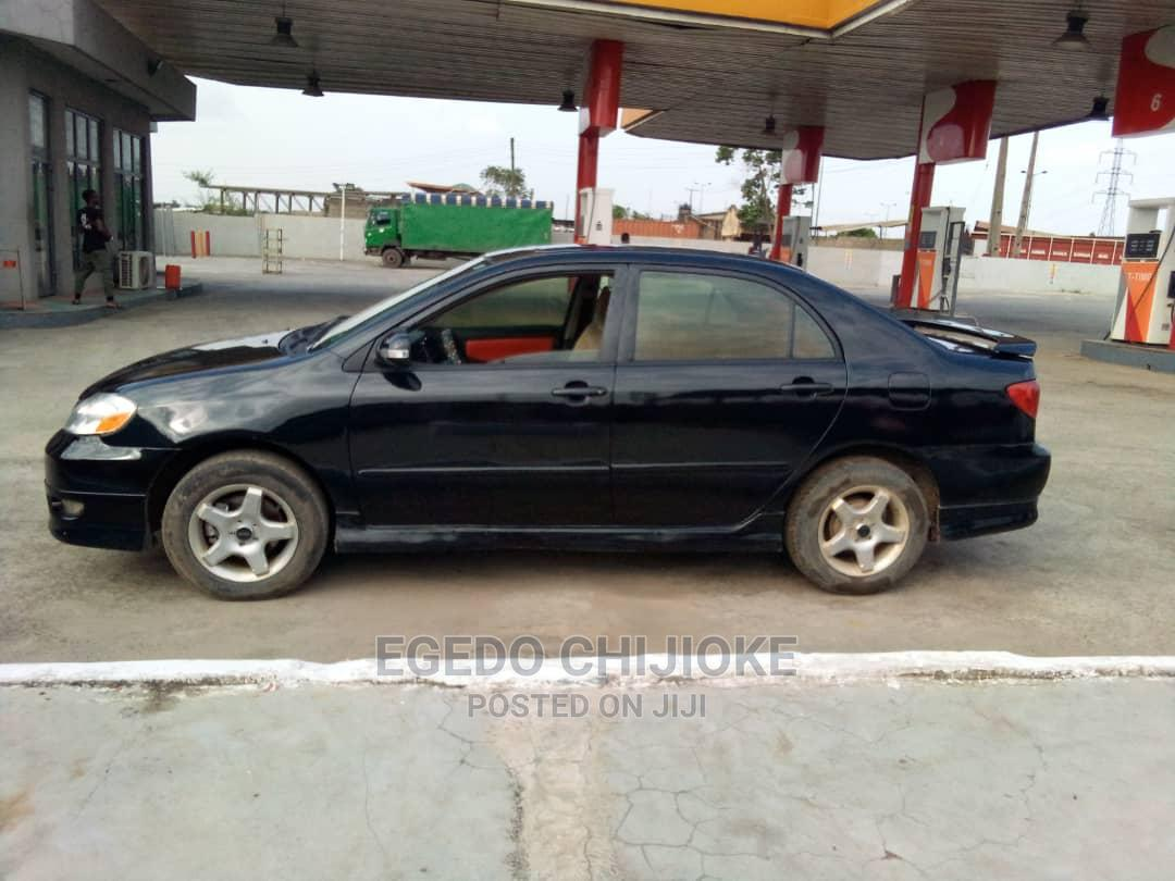 Toyota Corolla 2006 S Black | Cars for sale in Ikorodu, Lagos State, Nigeria