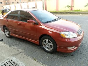 Toyota Corolla 2004 Red   Cars for sale in Lagos State, Ogba
