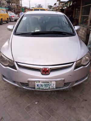 Honda Civic 2008 1.8 EX Silver | Cars for sale in Lagos State, Shomolu