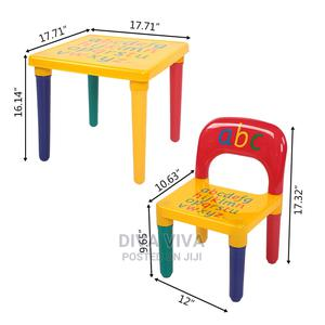 Children Learning Chair and Table | Children's Furniture for sale in Lagos State, Amuwo-Odofin