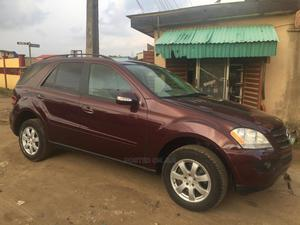 Mercedes-Benz M Class 2008 ML 350 4Matic Red | Cars for sale in Lagos State, Ikeja