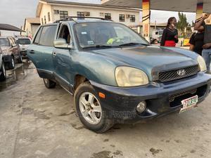 Hyundai Santa Fe 2003 3.5 Green   Cars for sale in Lagos State, Ifako-Ijaiye
