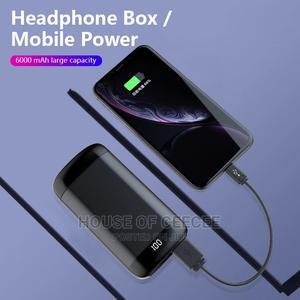 Wireless Bluetooth Earbuds + Powerbank   Headphones for sale in Lagos State, Ikeja