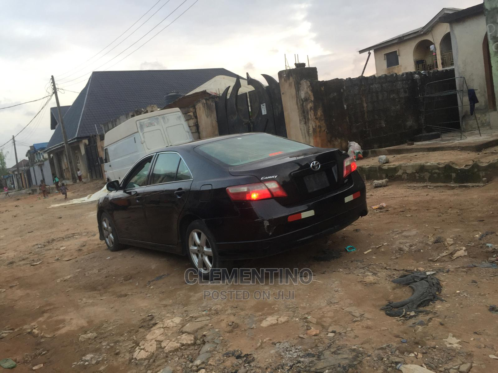 Toyota Camry 2008 2.4 SE Black   Cars for sale in Alimosho, Lagos State, Nigeria