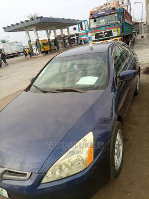 Honda Accord 2005 2.0 Comfort Automatic Blue | Cars for sale in Lagos State, Ojo