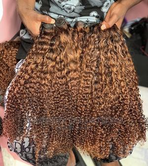 24 Inches Chestnut Kinky Curls | Hair Beauty for sale in Lagos State, Surulere
