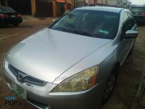 Honda Accord 2005 2.4 Type S Automatic Silver | Cars for sale in Lagos State, Yaba