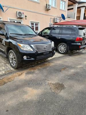 Lexus LX 2010 570 Black   Cars for sale in Abuja (FCT) State, Wuse 2
