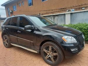 Mercedes-Benz M Class 2008 ML 350 4Matic Black   Cars for sale in Lagos State, Orile