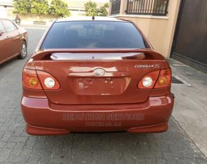 Toyota Corolla 2004 S Red   Cars for sale in Lagos State, Ikeja