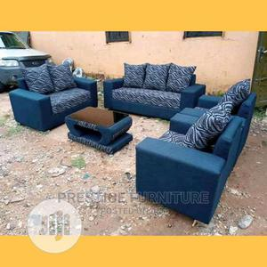 7 Seater of a Fabric Chair, With a Center Table | Furniture for sale in Lagos State, Ikeja