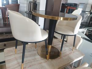 Quality Leather Coffee Table and Chair | Furniture for sale in Abuja (FCT) State, Wuse