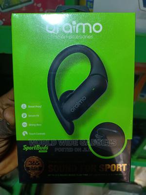 Oraimo Sportbud's Bluetooth Tiwn Headset( Model E95D)   Headphones for sale in Lagos State, Ikeja