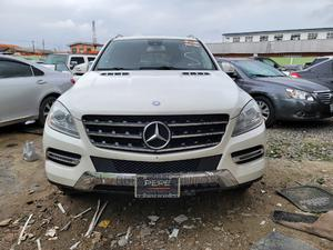 Mercedes-Benz M Class 2013 ML 350 4Matic White   Cars for sale in Lagos State, Ogba