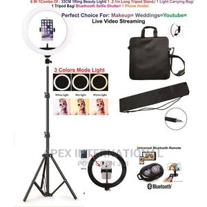 Selfie Ring Light Led Camera DSLR Phone Holder Tripod Stand   Accessories for Mobile Phones & Tablets for sale in Lagos State, Ikoyi