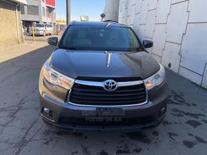 Toyota Highlander 2015 Gray | Cars for sale in Lagos State, Ojodu