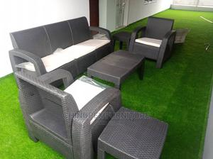 Outdoor Plastic Rattan Sofa Chair | Furniture for sale in Lagos State, Ojo