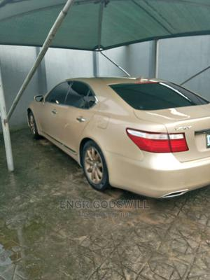 Lexus LS 2010 460 Gold   Cars for sale in Rivers State, Oyigbo