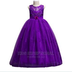 Cereminial Long Ball Gown   Children's Clothing for sale in Lagos State, Surulere