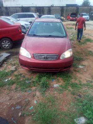 Toyota Corolla 2004 LE Red   Cars for sale in Lagos State, Isolo
