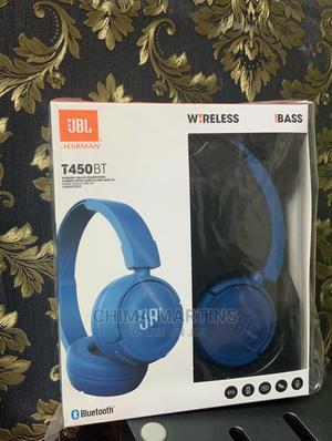 Jbl T450bt - Blue   Headphones for sale in Lagos State, Ikeja