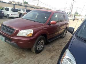 Honda Pilot 2004 EX 4x4 (3.5L 6cyl 5A) Red | Cars for sale in Lagos State, Isolo