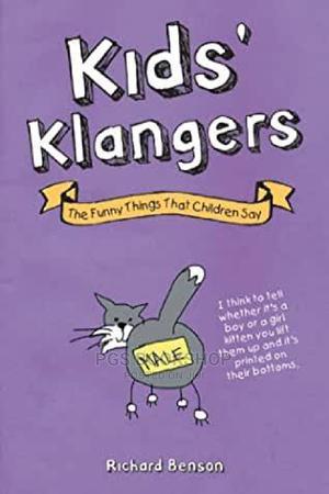 Richard Benson_kids Klangers   Books & Games for sale in Lagos State, Ajah