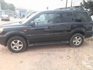 Honda Pilot 2007 EX-L 4x2 (3.5L 6cyl 5A) Black   Cars for sale in Lagos State, Ogba