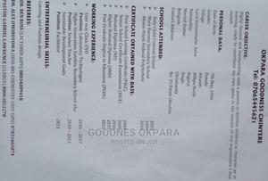 Public Health Officer | Healthcare & Nursing CVs for sale in Rivers State, Okrika