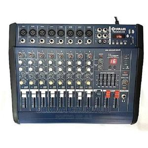 Yamaha 8 Channel Powered Mixer Amplifier With Usb, Equalizer   Audio & Music Equipment for sale in Lagos State, Mushin