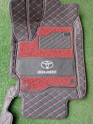Highlander Fiber Customized Floor Mat | Vehicle Parts & Accessories for sale in Abuja (FCT) State, Gudu