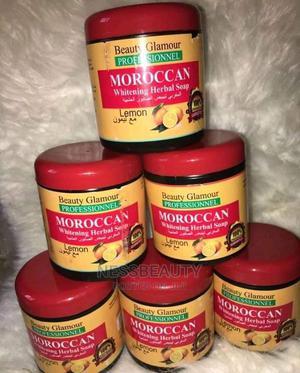 Moroccan Lemon Herbal Whitening Black Soap | Skin Care for sale in Lagos State, Badagry