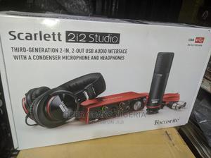 Scarlett 2i2 Studio Complete Pack   Audio & Music Equipment for sale in Lagos State, Ojo