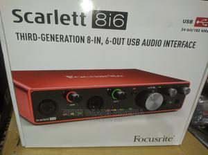 Scarlett 8i6 3rd Generation   Audio & Music Equipment for sale in Lagos State, Ojo