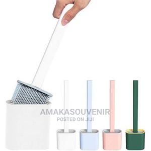 1silicone Toilet Brush With Base Toilet Cleaning Set | Home Accessories for sale in Lagos State, Lagos Island (Eko)