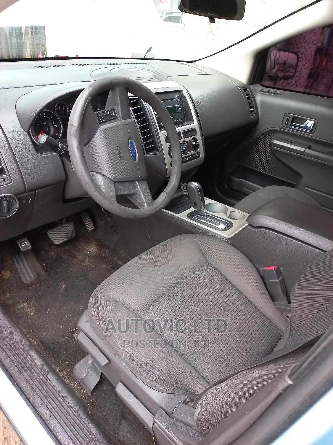 Ford Edge 2008 SE 4dr FWD (3.5L 6cyl 6A) Blue   Cars for sale in Ajah, Lagos State, Nigeria